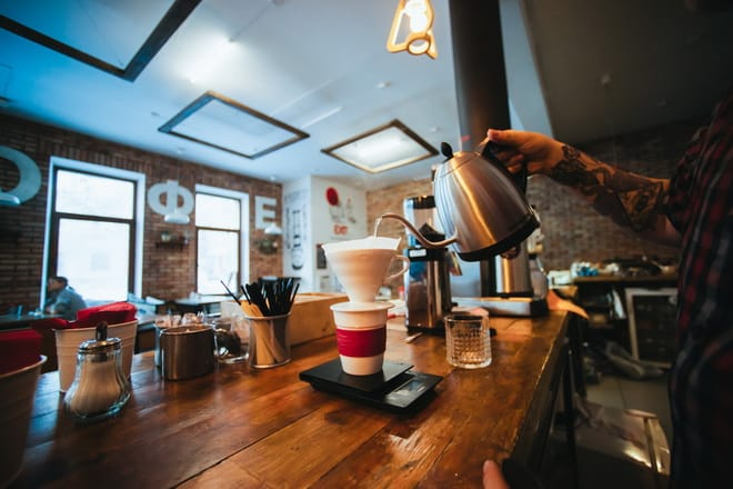 Бюджет на открытие кофейни