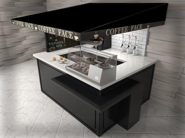 остров по продаже кофе