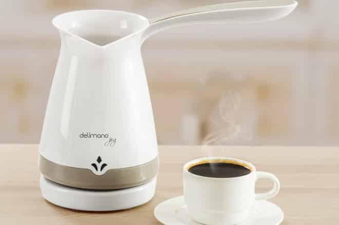 кофе в электро турке