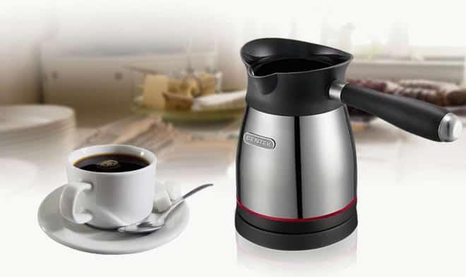 кофе в электротурке