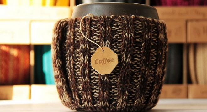 теплый кофе