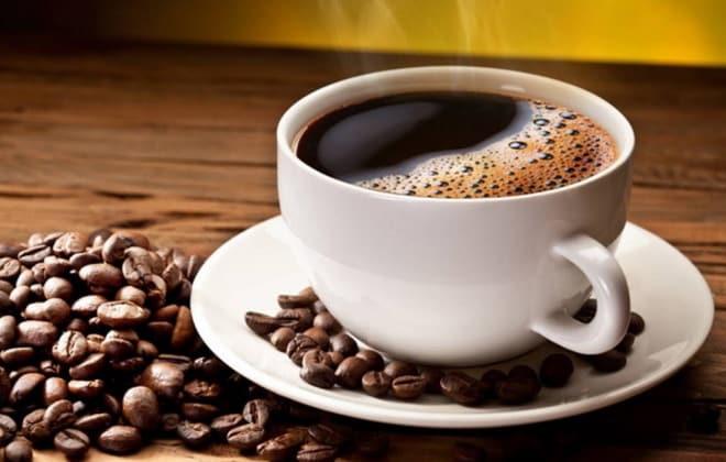 кофе с зернами