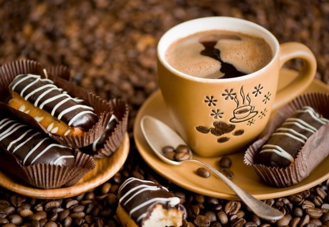 кофе с молоком на диете